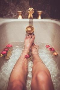 baño de tina